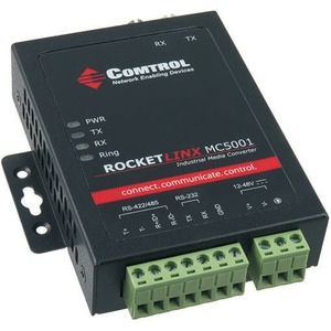 Comtrol RocketLinx Industrial Serial to Fiber Media Conversion Module