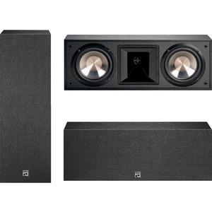 BIC America 6 1/2 in. 175-Watt Dual Bookshelf LCR Speaker-FH6-LCR