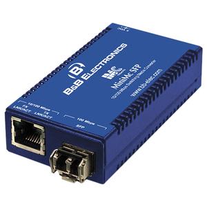 B&B MiniMc, TP-TX/SFP (requires one IE-SFP/155 Module)