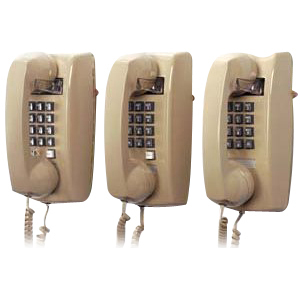 Cortelco 2554 Single-Line Wall Telephone
