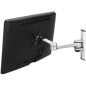Visidec US Government compliant single display wall LCD/LED articulated arm