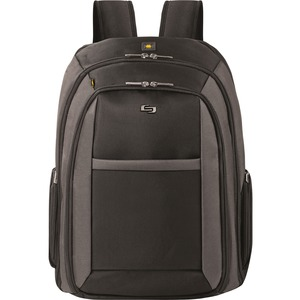 "Solo Sterling Carrying Case (Backpack) for 16"" Notebook - Black"