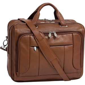 "McKleinUSA 15.6"" Leather Fly-Through Checkpoint-Friendly Laptop Briefcase"