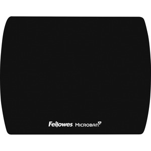 Fellowes Microban® Ultra Thin Mouse Pad - Black