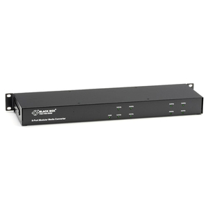 Black Box 8-Slot Media Converter Chassis