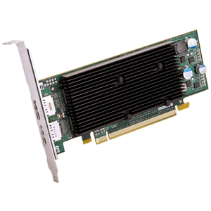 Matrox M9128 Graphic Card - 1 GB DDR2 SDRAM - PCI Express x16 - Low-profile