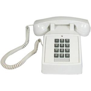 Cortelco 2500-20M Basic Standard Phone - White
