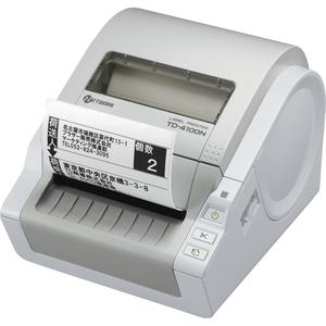 Brother TD-4100N Direct Thermal Printer - Monochrome - Desktop - Label Print