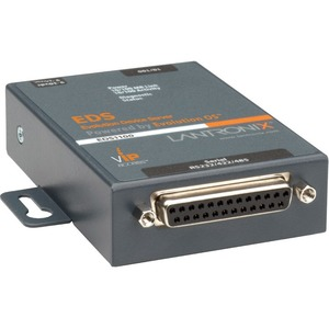 Lantronix One Port Secure Serial (RS232/ RS422/ RS485) to IP Ethernet Device Server; Up to 256-bit AES encryption; SSH/SSL/TLS Enterprise Security with PKI; International 110- ...(more)