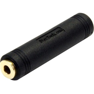 StarTech.com 3.5 mm to 3.5 mm Audio Coupler - Female to Female