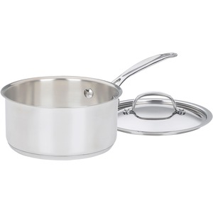 SAUCEPAN 2QT W/COVER STAINLESS