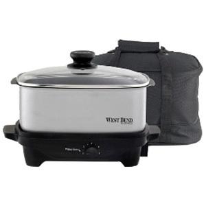 West Bend 84915 Oblong Slow Cooker