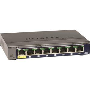 Netgear ProSafe GS108Tv2 Gigabit Smart Switch