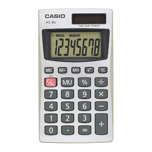 Casio HS-8V Basic Calculator