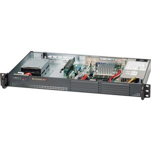 Supermicro SuperServer 5015A-EHF 1U Rack Server - 1 x Intel Atom D510 Dual-core (2 Core) 1.66 GHz DDR2 SDRAM - Serial ATA/300 Controller - 1 x 200 W