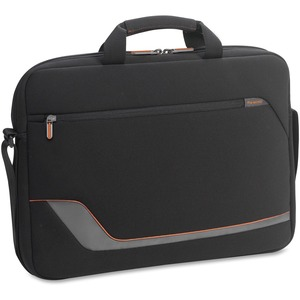 "Solo Vector Carrying Case (Briefcase) for 17.3"" Notebook - Black"