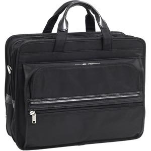 "McKleinUSA 15.6"" Nylon Double Compartment Laptop Briefcase"