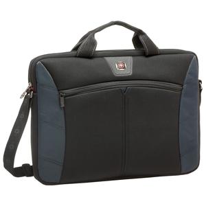 Swissgear Sherpa 17.3in Slimcase Computer Sleeve, Blue & Black
