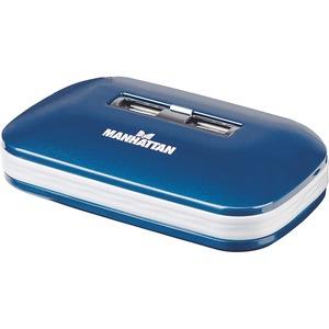 Open Box: Manhattan 7-Port Hi-Speed USB Ultra Hub, Dual Power