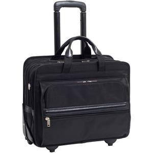 "McKleinUSA 15.6"" Nylon Patented Detachable -Wheeled Laptop Briefcase"