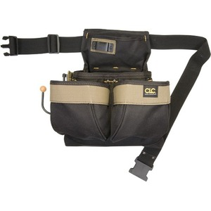 NAIL/TOOL BAG W/POLYWEB BELT