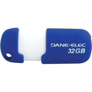 Gigastone 32GB Capless DA-ZMP-32G-CA-A1-R USB 2.0 Flash Drive