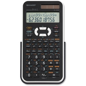 Sharp EL-520XBWH Scientific Calculator
