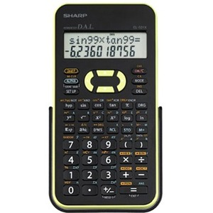 Sharp EL-531XBGR Scientific Calculator with 2 Line Display