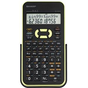 Sharp EL-531XBGR Scientific Calculator with 2 Line Display