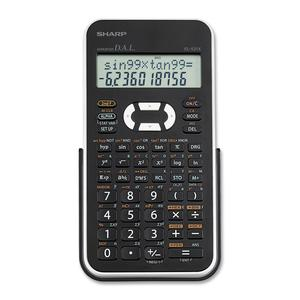 Sharp EL-531XBWH Scientific Calculator with 2 Line Display