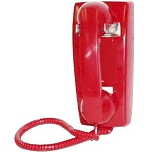 Viking Electronics K-1900W-2 Standard Phone - Red