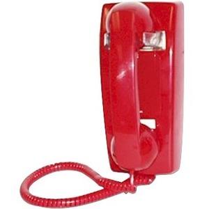 Viking Electronics K-1900W-2 Standard Phone - Red