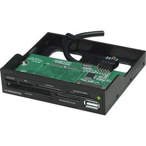 "Manhattan 3.5"" Bay Mount Hi-Speed USB 60-in-1 Multi-Card Reader/Writer"