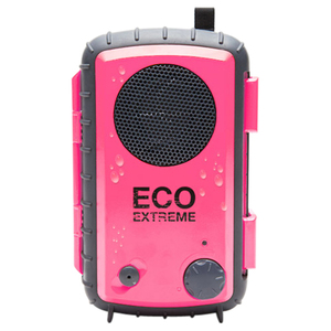 Grace Digital ECOXGEAR Eco Extreme GDI-AQCSE106 Rugged Waterproof Case with Built-in Speaker for Smartphones (Pink)