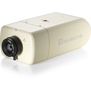 LevelOne 2-Megapixel FCS-1131 10/100 Mbps PoE W/2-way Audio SD/SDHC Card Slot Day/Night IP Network Camera