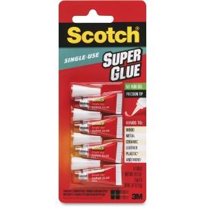Scotch Single-use Super Glue Gel