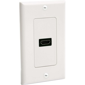 StarTech.com Single Outlet Female HDMI® Wall Plate White