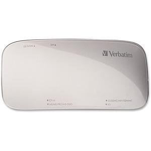 Verbatim Universal Card Reader, USB 3.0 - Silver