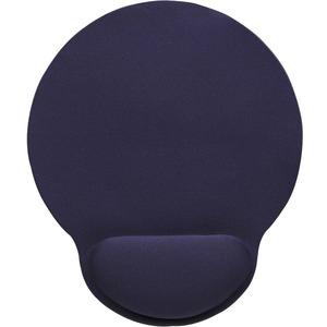 Manhattan Wrist-Rest Gel Mouse Pad, Blue