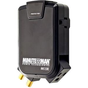 Minuteman SlimLine MMS130RC 3-Outlets Surge Suppressor