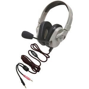 Califone Headset, Rechargeable, Vol Cntrl, Mic, Via Ergoguys