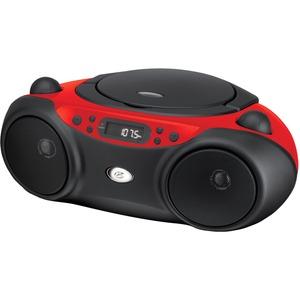 GPX BC232R Radio/CD Player Boombox