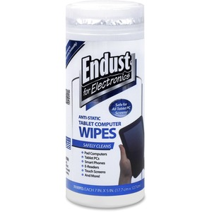 Endust Anti-Static Tablet Wipes 70ct.