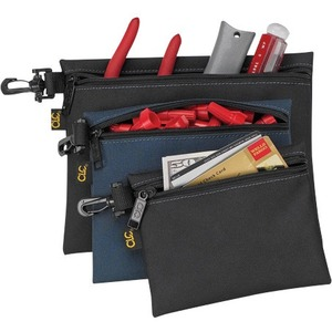 CLIP-ON ZIPPERED TOOL BAG
