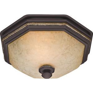 Hunter Fan Belle Meade Bathroom Fan and Light with New Bronze Finish (82023)