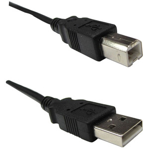 Weltron 15ft A Male to B Male USB 2.0 Cable