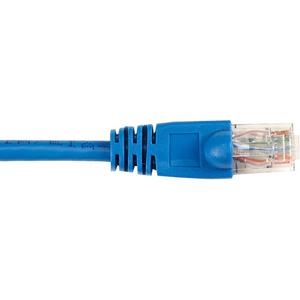 Black Box CAT6 Value Line Patch Cable, Stranded, Blue, 10-ft. (3.0-m)