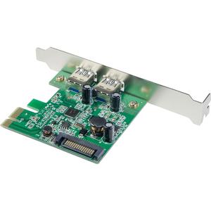 SYBA Multimedia USB 3.0 2-port PCI-Express Controller Card, with SATA Power Connector