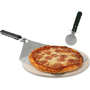 Mr. Bar.B.Q Grill Stone Pizza Set