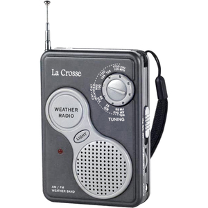 La Crosse Technology 809-905 AM / FM Handheld Weather Radio